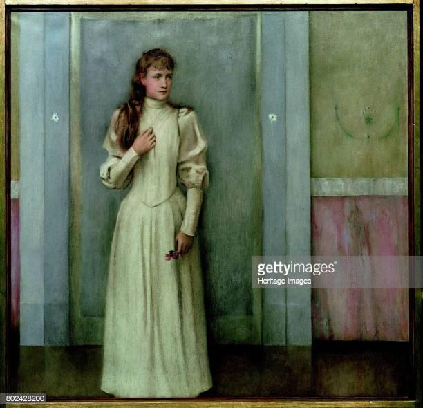 Portrait of Marguerite Landuyt 1896 Found in the collection of MusÈes royaux des BeauxArts de Belgique Brussels