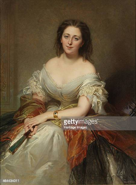 Portrait of Maria Countess Walewska 1859 Found in the collection of the Patrimoine comte CharlesAndré Colonna Walewski