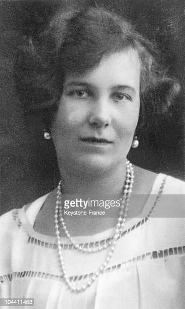 Portrait of MARIA KIRILLOVNA Grand Duchess of Russia around 1928 MARIA is the daughter of Grand Duke KIRILL of Russia first cousin and closest...