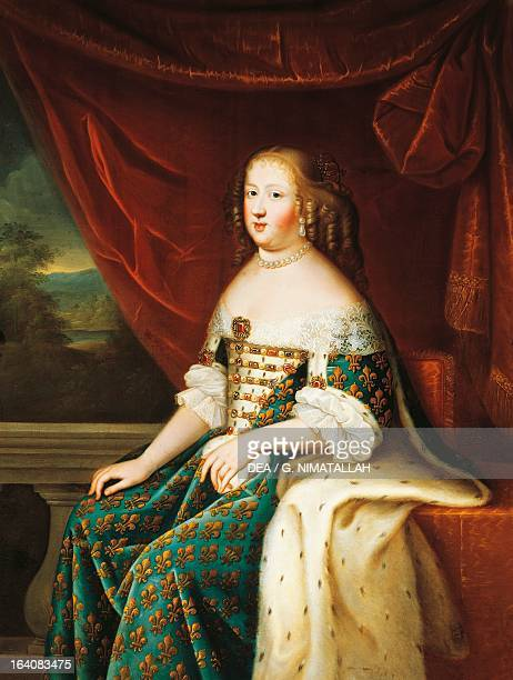 Portrait of Maria Theresa of Spain queen consort of Louis XIV King of France Florence Palazzo Pitti Galleria Palatina