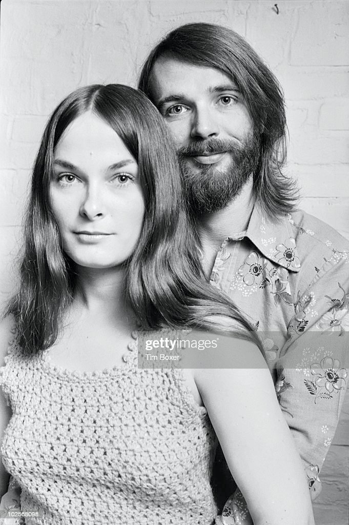 Portrait of married American actors (notably in pornography) Tina Russell (born Linda Marie Mintzer, 1948 - 1981) and Jason Russell (born John Sanderson) as they pose together, November 22, 1973.