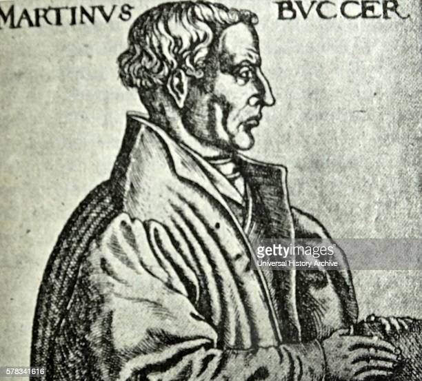 Portrait of Martin Bucer a German Protestant reformer Dated 16th Century