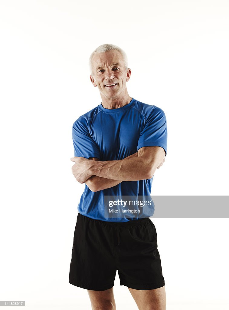 Portrait of Mature Athletic Male
