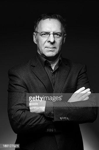 Portrait of mature business man