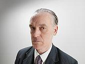 Portrait of mature businessman, close up