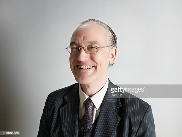Portrait of mature businessman smiling