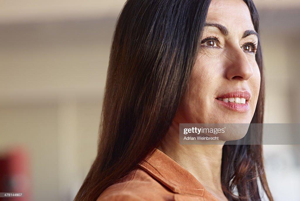 Portrait of mature businesswoman : Stock Photo