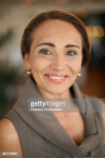 Portrait of mature businesswoman : Stock Photo