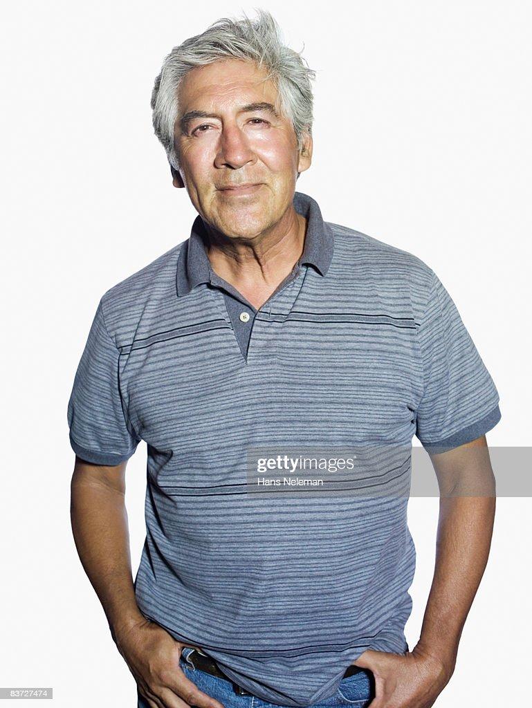 Portrait of mature man : Stock Photo