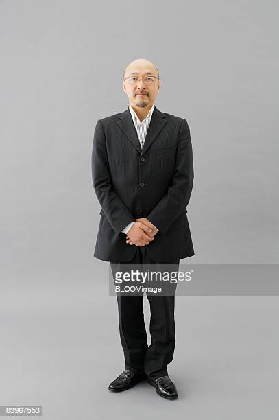 Portrait of Mature man, studio shot