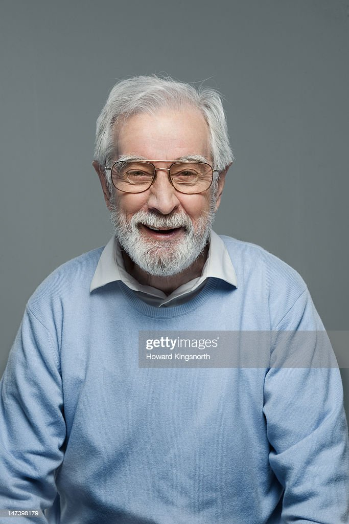 portrait of mature man wearing glasses