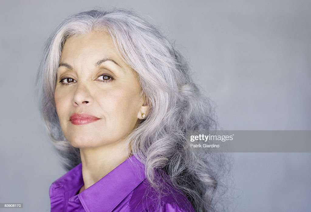 Portrait of mature woman : Stock Photo