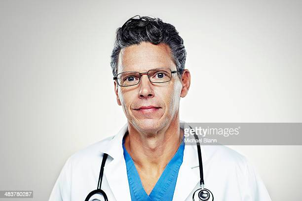Portrait of medical professional