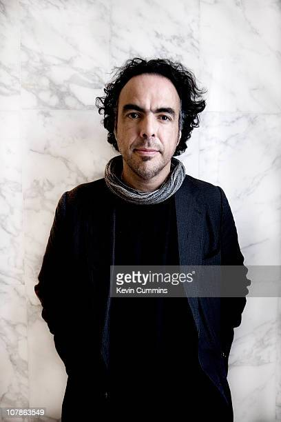 A portrait of Mexican film director Alejandro Gonzalez Inarritu in London on 27th October 2010