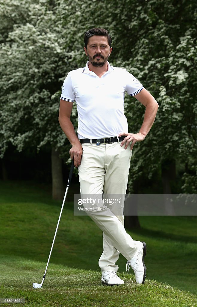 A portrait of Michael Lorenzo-Vera of France ahead of the BMW PGA Championship at Wentworth Golf Club on May 24, 2016 in Virginia Water, England.