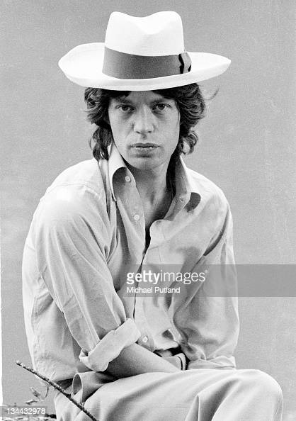 A portrait of Mick Jagger before the first night of the Rolling Stones' 1973 European World Tour Stadthalle Vienna Austria 1st September 1973
