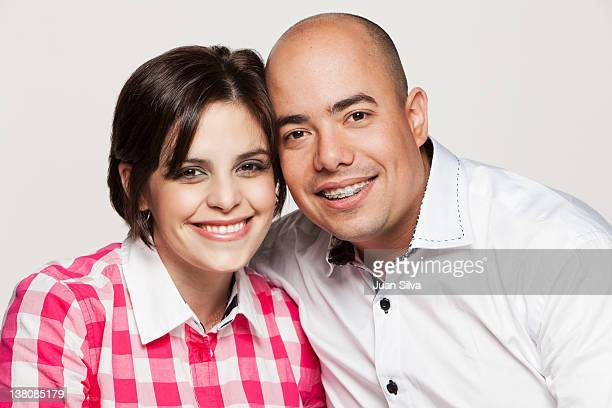 Portrait of mid adult couple smiling