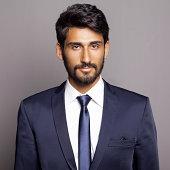 Portrait of Middle Eastern Businessman