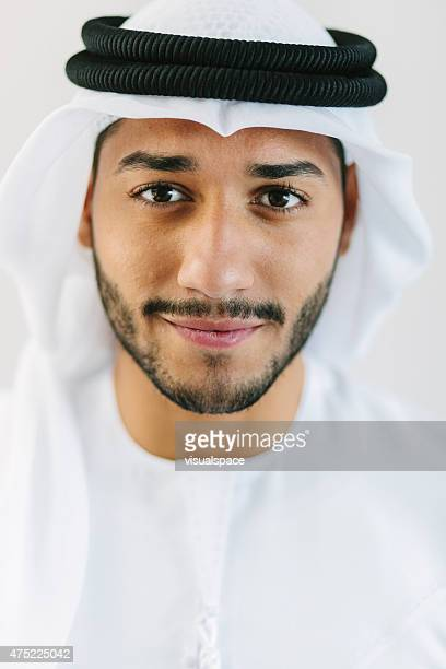 Portrait of Middle Eastern Man