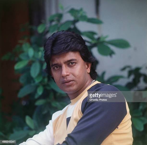 1983 Portrait of Mithun Chakraborty