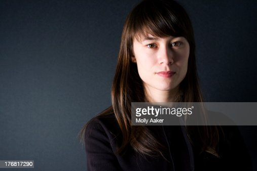 Portrait of Mixed Race - Asian / White Young Woman