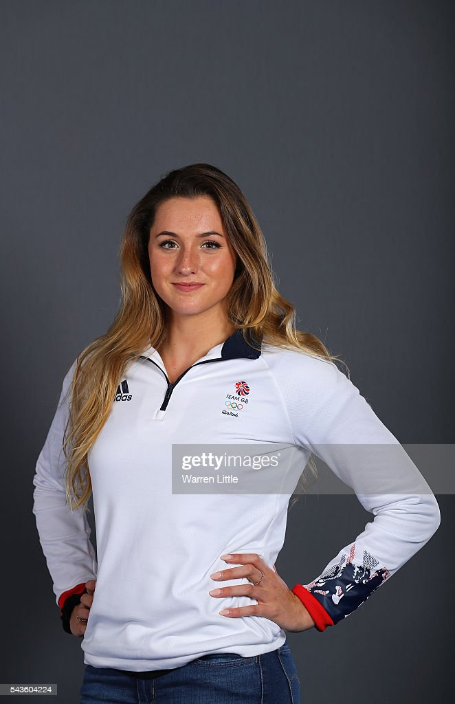 A portrait of <a gi-track='captionPersonalityLinkClicked' href=/galleries/search?phrase=Molly+Renshaw&family=editorial&specificpeople=7544143 ng-click='$event.stopPropagation()'>Molly Renshaw</a> a member of the Great Britain Olympic team during the Team GB Kitting Out ahead of Rio 2016 Olympic Games on June 29, 2016 in Birmingham, England.