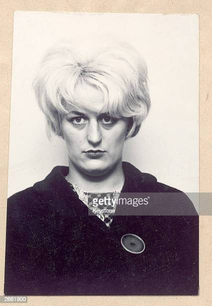 A portrait of Moors Murderer Myra Hindley taken during her trial