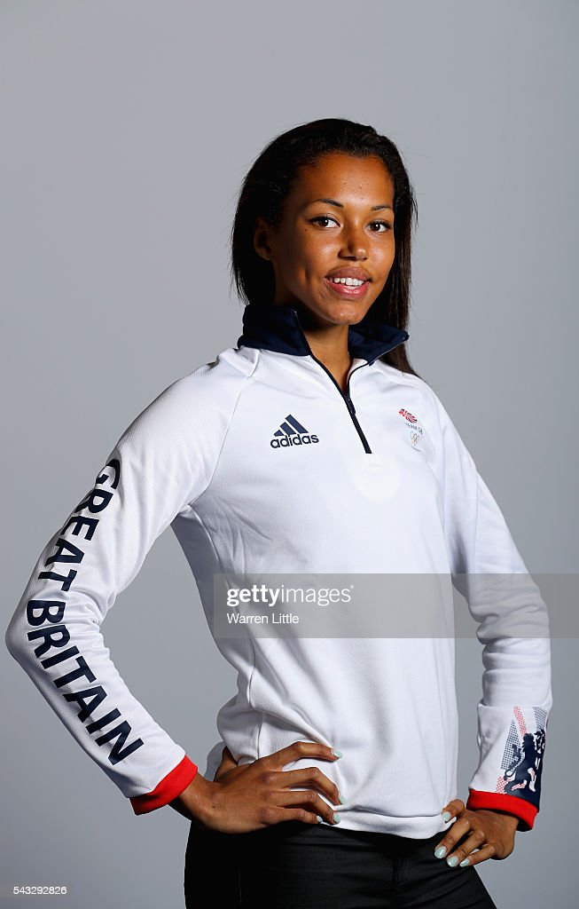 A portrait of <a gi-track='captionPersonalityLinkClicked' href=/galleries/search?phrase=Morgan+Lake&family=editorial&specificpeople=7087827 ng-click='$event.stopPropagation()'>Morgan Lake</a> a member of the Great Britain Olympic team during the Team GB Kitting Out ahead of Rio 2016 Olympic Games on June 27, 2016 in Birmingham, England.