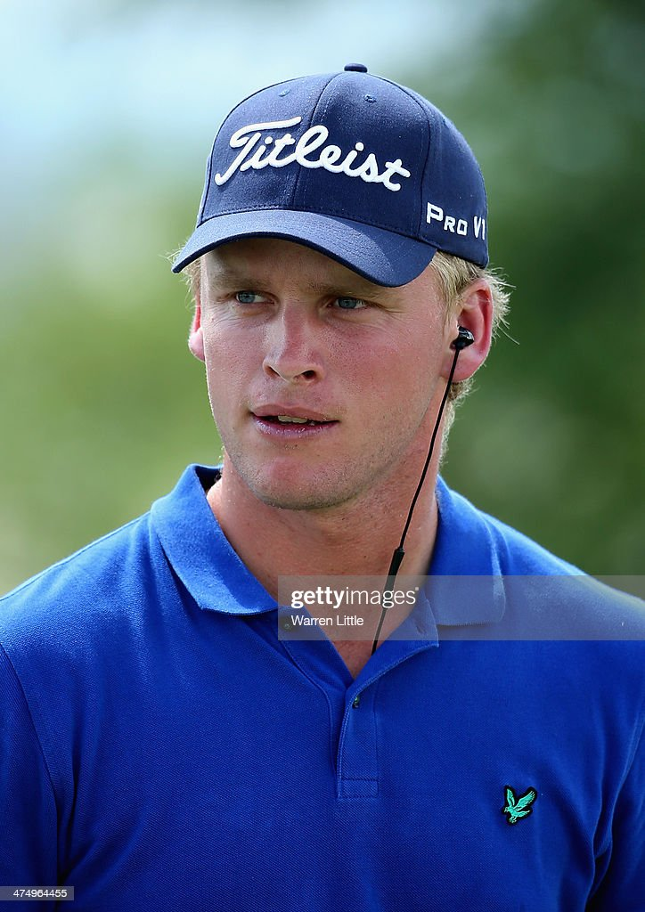 A portrait of Morten Orum Madsen of Denmark during a practice round ahead of the Tshwane Open at Copperleaf Golf & Country Estate on February 26, 2014 in Centurion, South Africa.