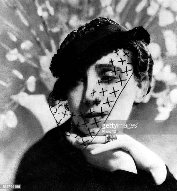 Portrait of Mrs Schiaparelli Paris Bibliothèque des arts décoratifs