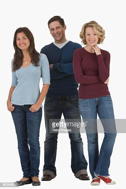 Portrait of multi-ethnic friends
