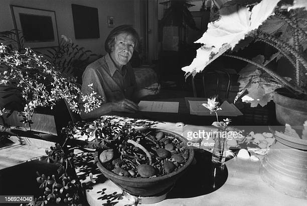 Portrait of musician and writer John Cage New York New York 1985