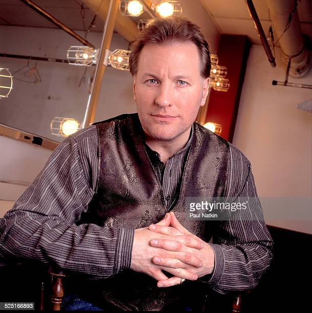 Portrait of musician Collin Raye Chicago Illinois November 25 1996