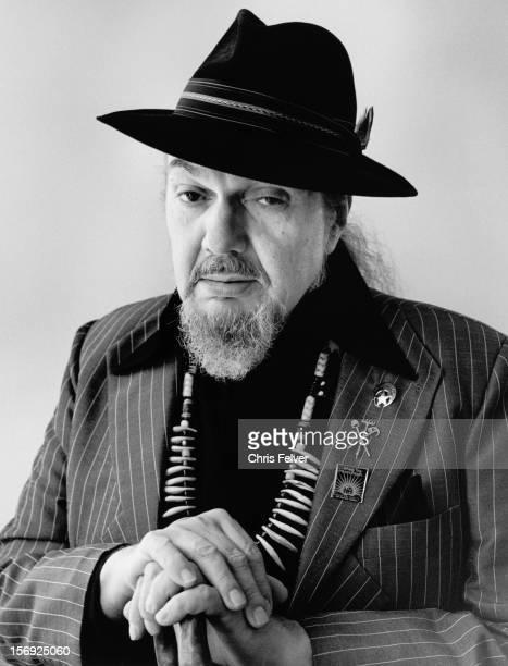 Portrait of musician Dr John San Francisco California 2009