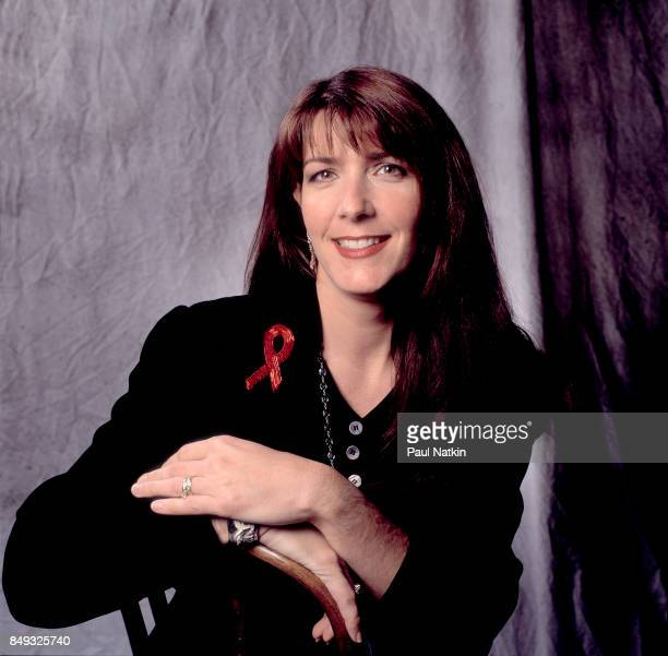 Portrait of musician Kathy Mattea at the Grand Ol' Opry in Nashville Tennessee December 1 1993