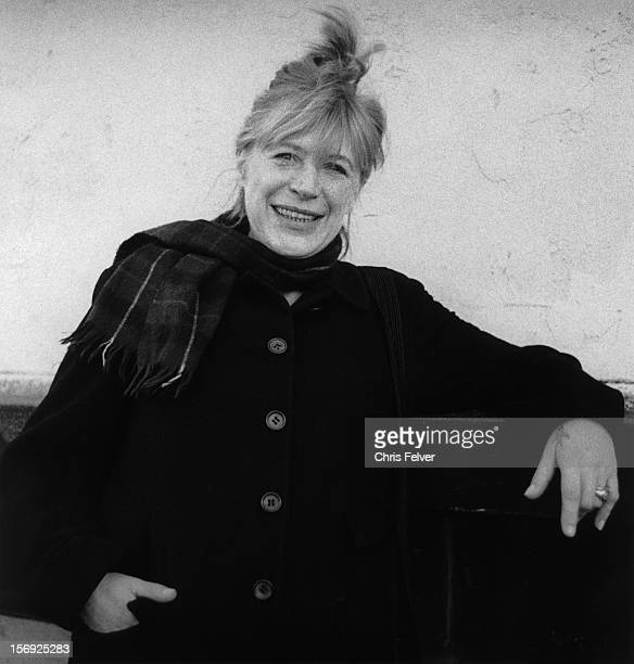Portrait of musician Marianne Faithfull San Francisco California 1995