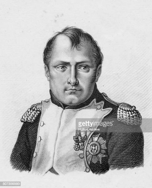 A portrait of Napoleon Bonaparte as Emperor Napoleon 1 of France on 18 June 1815 at Waterloo Belgium