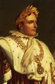 Portrait of Napoleon Bonaparte oil painting by AnneLouis Girodet de RoussyTrioson Detail Durham Barnard Bowes Castle