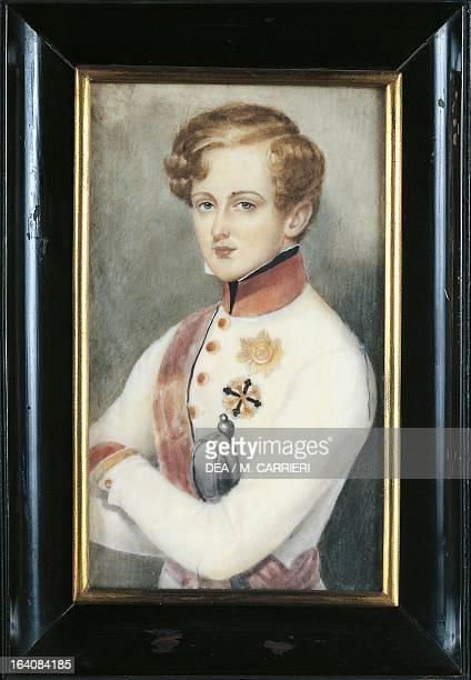 Portrait of Napoleon II son of Napoleon Bonaparte and his second wife Marie Louise of Austria Emperor of France Milan Civico Museo Del Risorgimento