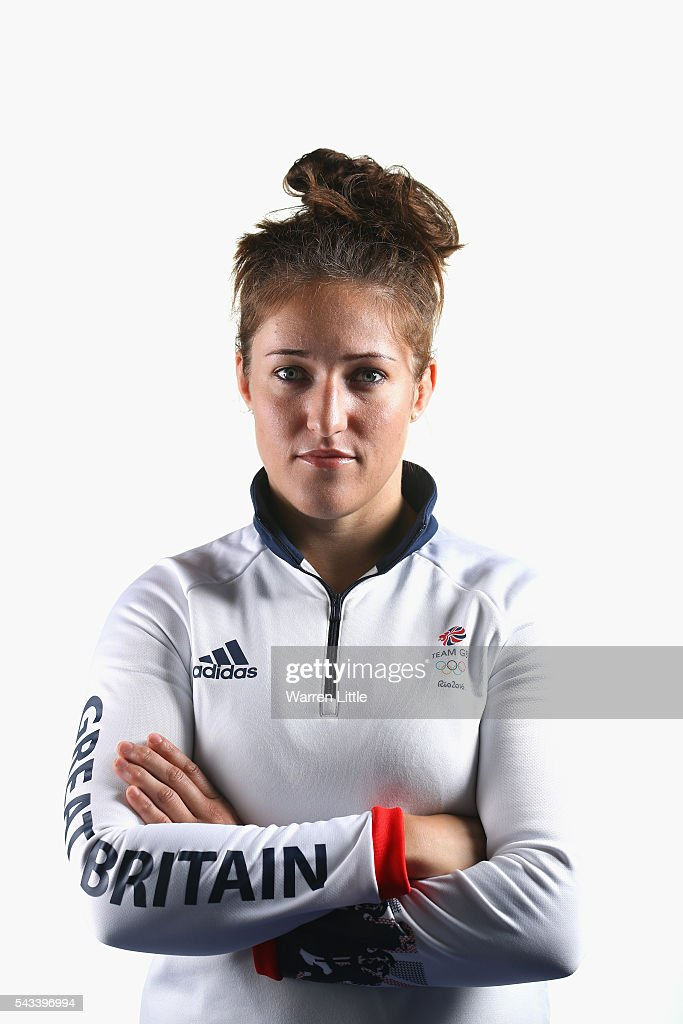 A portrait of Natalie Powell a member of the Great Britain Olympic team during the Team GB Kitting Out ahead of Rio 2016 Olympic Games on June 28, 2016 in Birmingham, England.