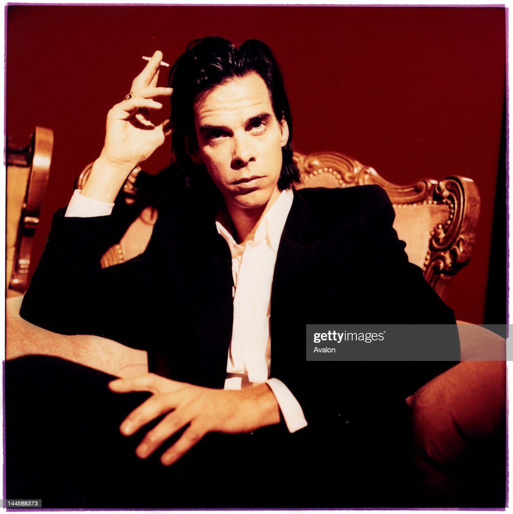 Portrait of Nick Cave photographed in London in April 1997 24203 Exclusive