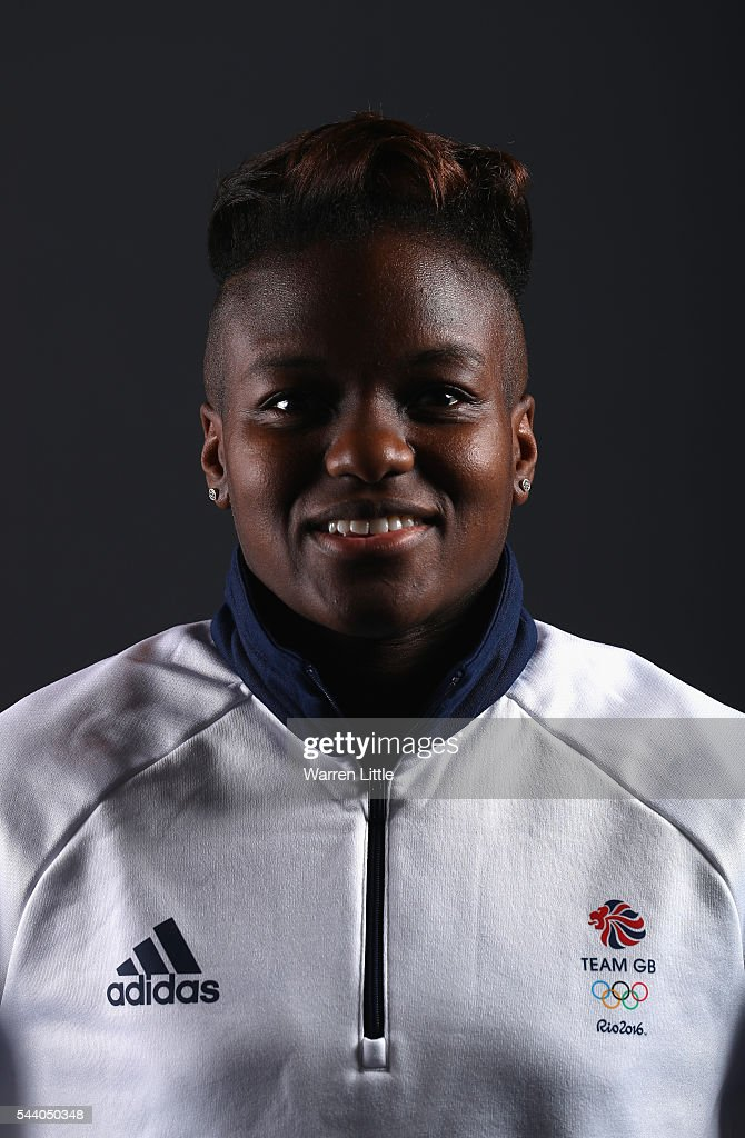 A portrait of <a gi-track='captionPersonalityLinkClicked' href=/galleries/search?phrase=Nicola+Adams&family=editorial&specificpeople=9403811 ng-click='$event.stopPropagation()'>Nicola Adams</a> a member of the Great Britain Olympic team during the Team GB Kitting Out ahead of Rio 2016 Olympic Games on July 1, 2016 in Birmingham, England.
