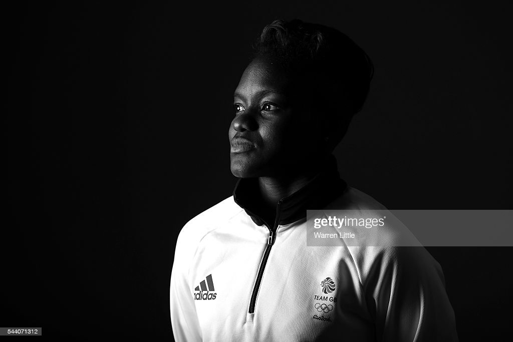 A portrait of Nicola Adams a member of the Great Britain Olympic team during the Team GB Kitting Out ahead of Rio 2016 Olympic Games on July 1, 2016 in Birmingham, England.