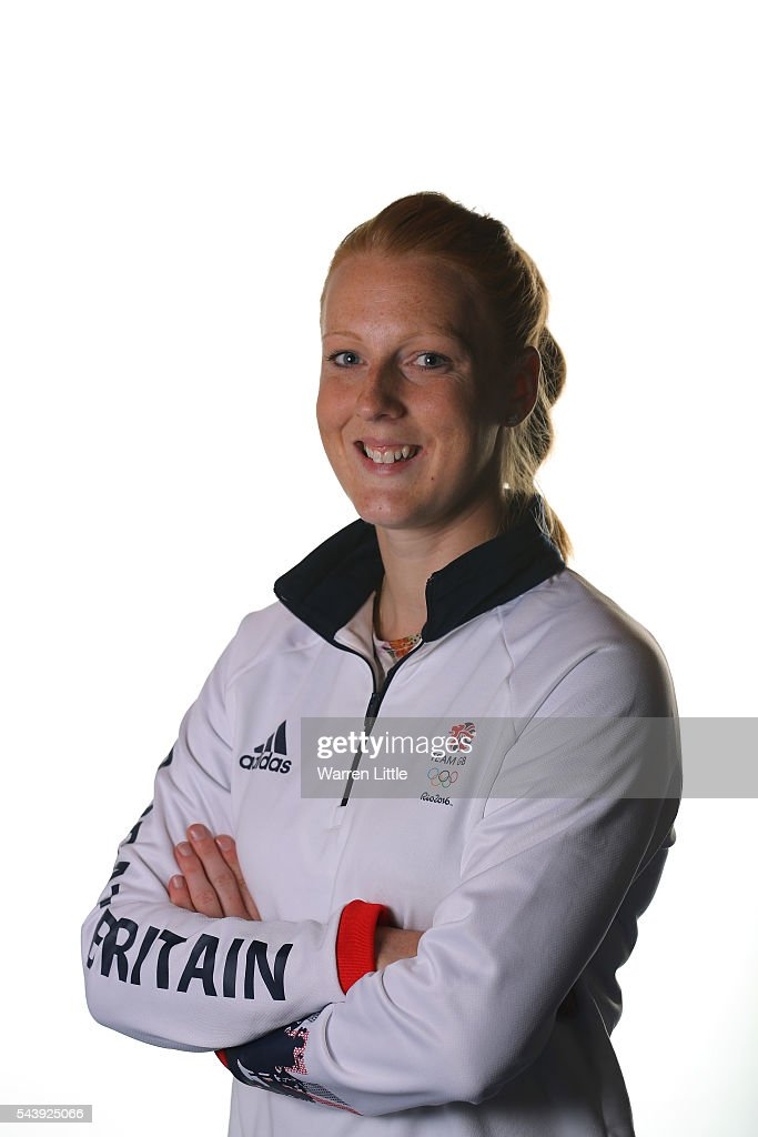 A portrait of <a gi-track='captionPersonalityLinkClicked' href=/galleries/search?phrase=Nicola+White&family=editorial&specificpeople=5968894 ng-click='$event.stopPropagation()'>Nicola White</a> a member of the Great Britain Olympic team during the Team GB Kitting Out ahead of Rio 2016 Olympic Games on June 30, 2016 in Birmingham, England.
