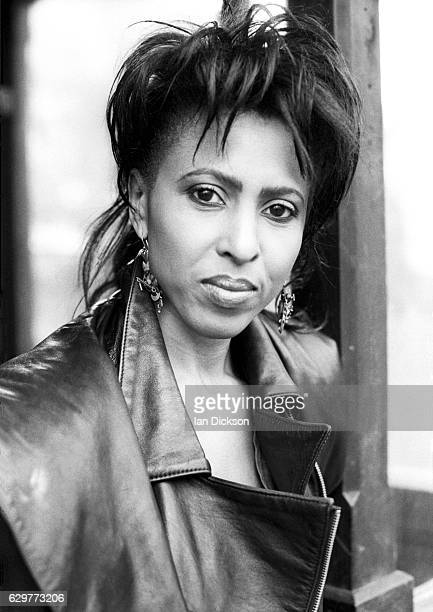 Portrait of Nona Hendryx taken for Black Echoes music paper London 1984