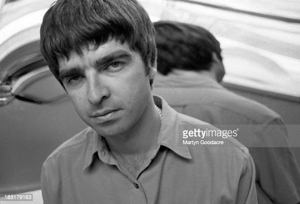 Portrait of Oasis guitarist and songwriter Noel Gallagher London United Kingdom 1995