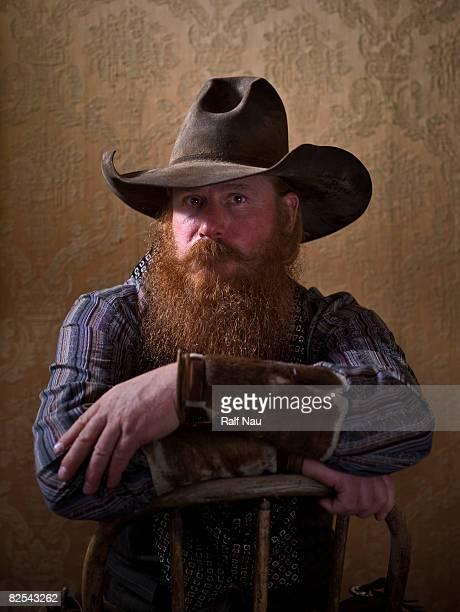 Portrait of of cowboy