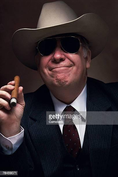 Portrait of oil baron