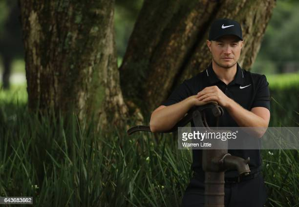 A portrait of Oliver Fisher of England ahead of the Joburg Open at Royal Johannesburg and Kensington Golf Club on February 22 2017 in Johannesburg...