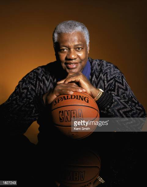 Portrait of Oscar Robertson during the 2003 AllStar Weekend on February 9 2003 in Atlanta Georgia The 'Big O' was elected to the Hall of Fame in 1979...
